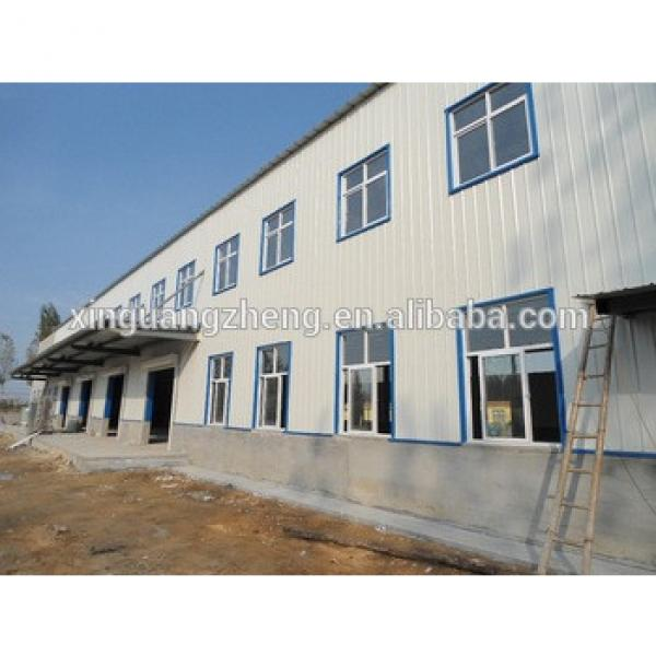 low cost steel structure and sandwich panel application factory workshop building #1 image