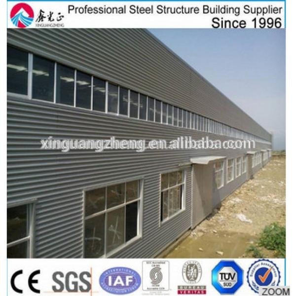 prefabricated high quality light steel structure workshop #1 image