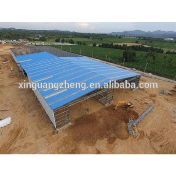 fireproof waterproof pre-engineered steel structure cheap warehouse #1 image