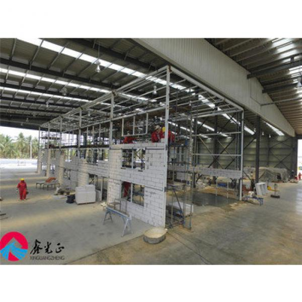 large span light steel structure prefabricated workshop in Thailand #1 image