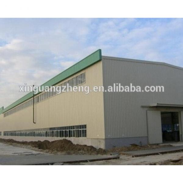 Middle-east Porject Prefab Modular Steel Structure Warehouse Building/Factory Building #1 image