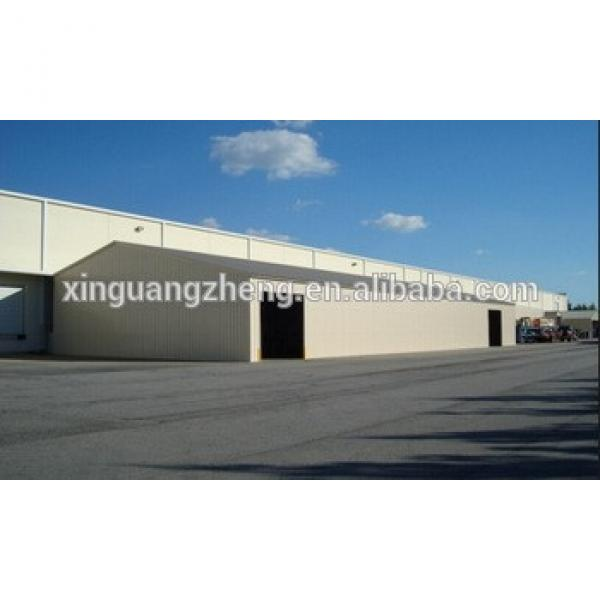 Factory Price Light Steel Structure Large Span Building Sandwich Panel Prefabricated Buildings #1 image