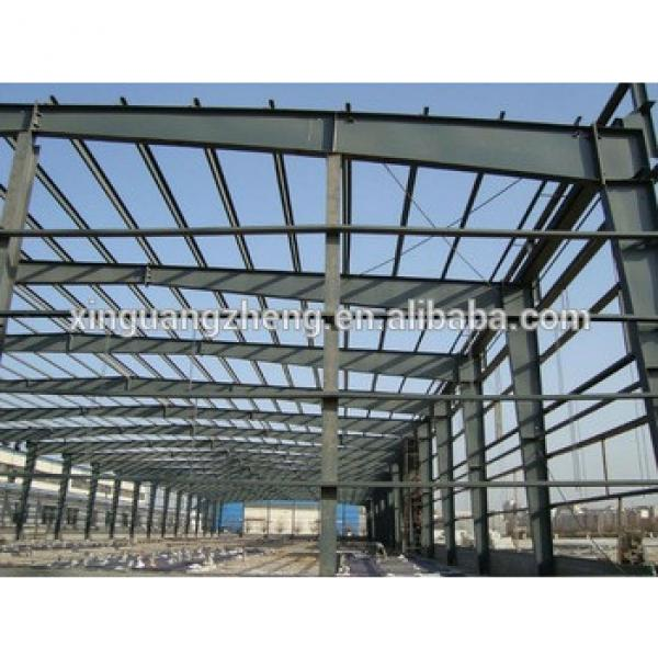 Construction industrial shed designs wide span high rise light steel prefab building #1 image