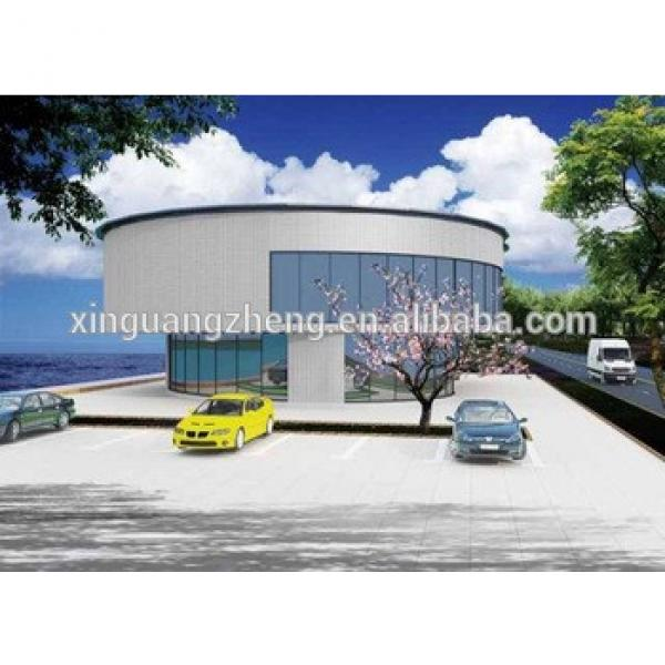 China prefabricated steel structure prefab house school hall construction building #1 image