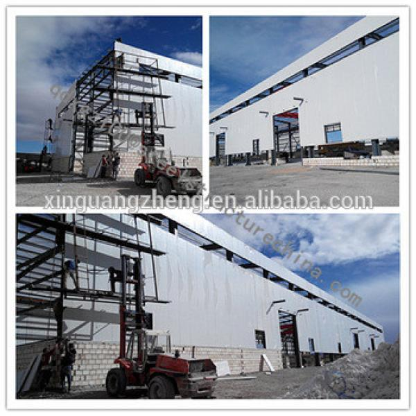 steel structural frame cold storage factory in EU #1 image
