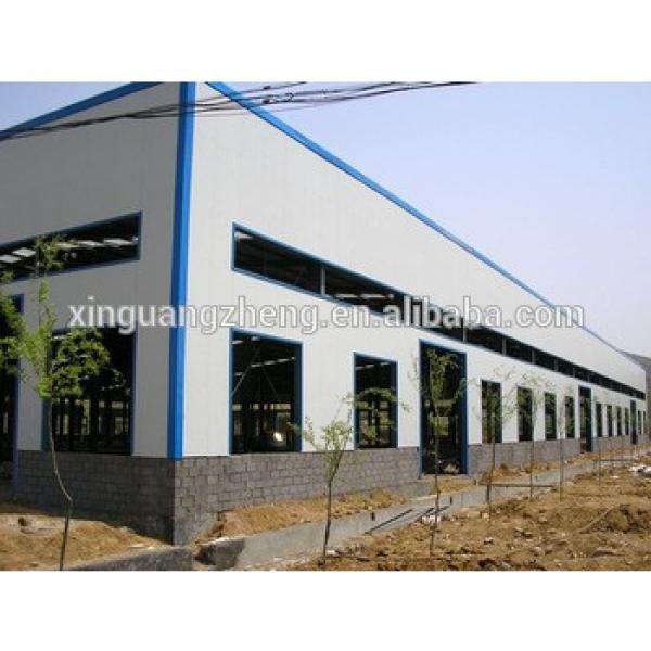 strong prefab structure qatar structural steel frame warehouse #1 image