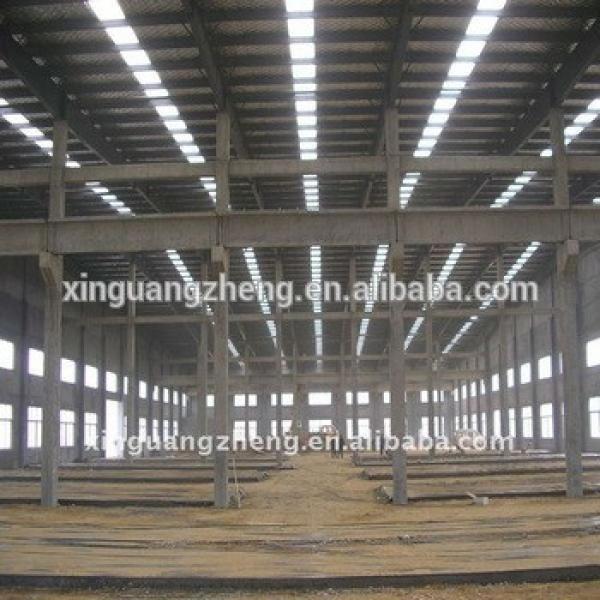 Prefabricated industrial hall prefabricated metal storage building #1 image