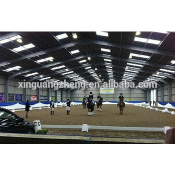 Steel structure Indoor Horse Riding Arenas with CE certification #1 image