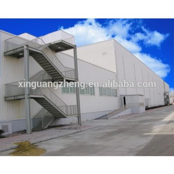 prefabricated sandwich panel steel structure warehouse #1 image
