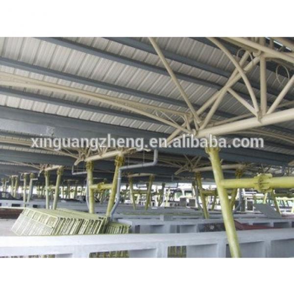 low cost steel structure garage & storage hall #1 image