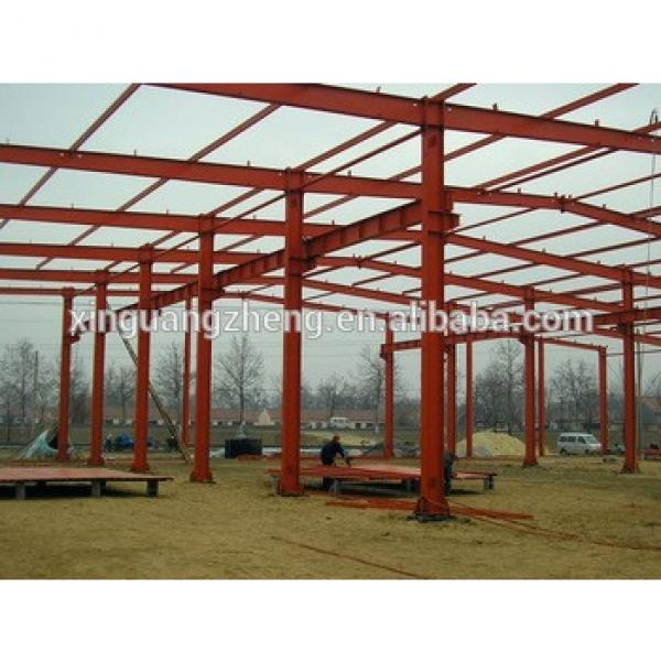 Aircraft Hangar Steel Building 14m x 10m x6m with folding Door #1 image