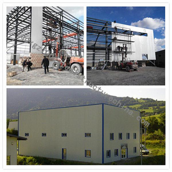 apartment/steel structure construction hotel/steel warehouse/steel workshop #1 image