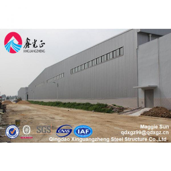 Metal barn Wide span Construction design steel structure warehouse #1 image