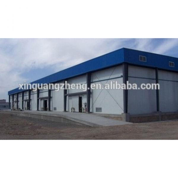 low cost steel prefabricated space light steel structure shed building #1 image