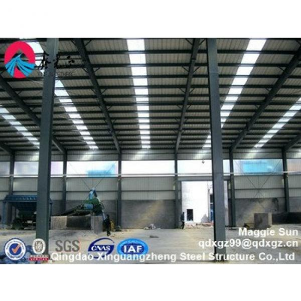 High quality prefabricated construction design steel structure warehouse #1 image