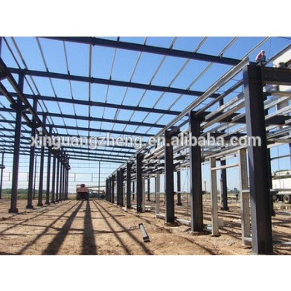 Excellent Industrial Steel Structure Buildings With refined Calculation #1 image