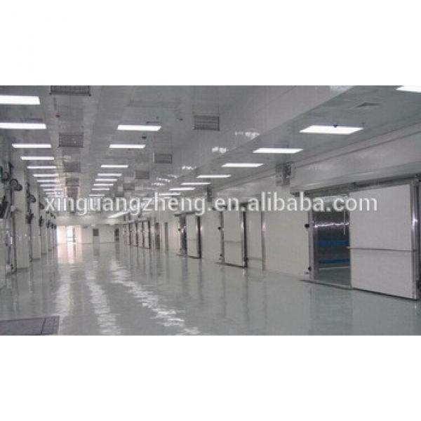 prefabricated steel building warehouse roof structure portal frame fabrication #1 image