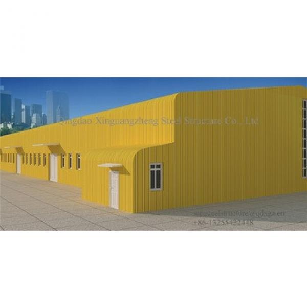 pre-engineered turnkey peb steel structure factory project #1 image