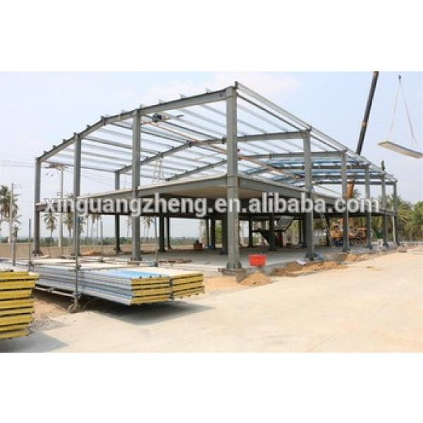 Low Cost Industrial Shed Designs Steel Prefab Warehouse #1 image