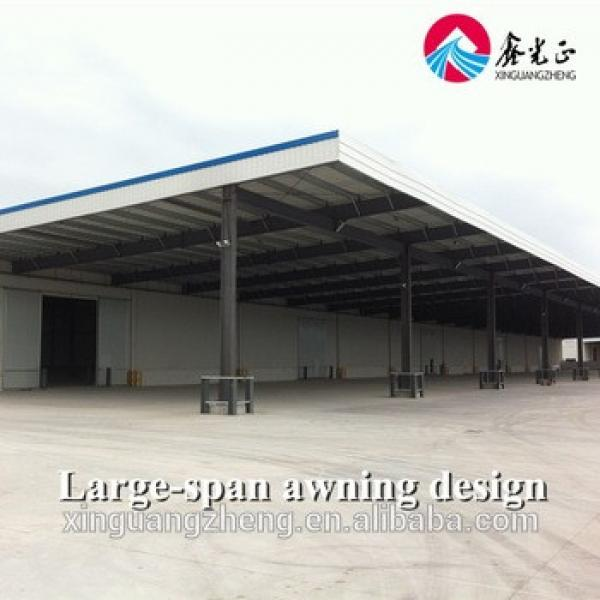 Industrial construction building steel structure shed design #1 image