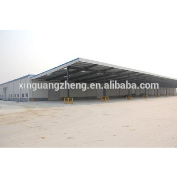 Turnkey construction design steel structure warehouse #1 image
