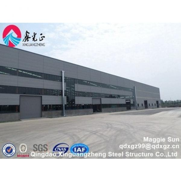 Qingdao xinguangzheng steel structure engineering project #1 image