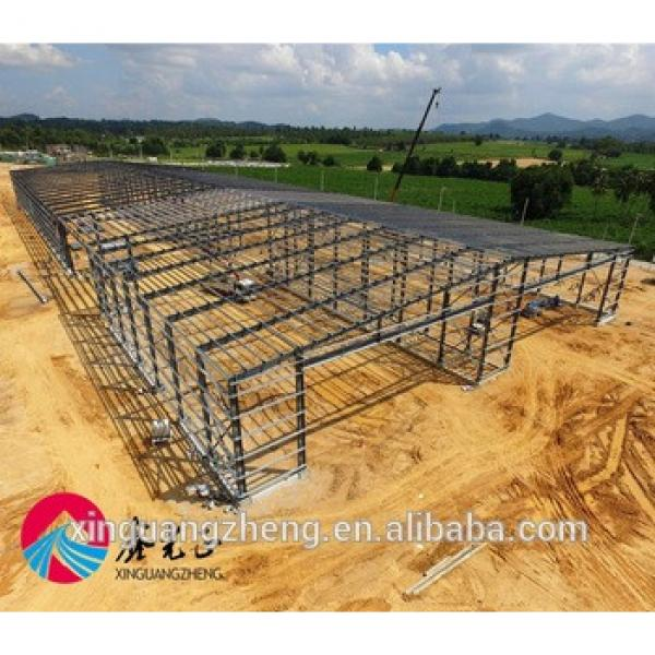 Prefabricated steel structure barn #1 image