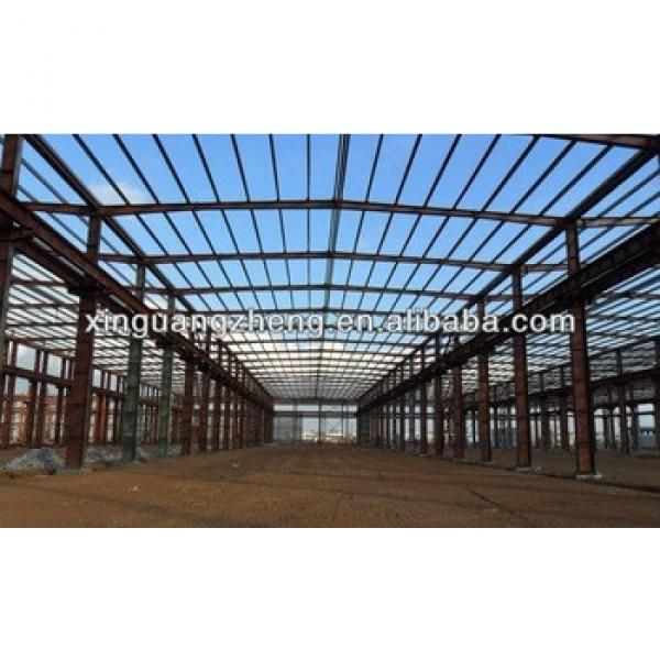 low cost Large span steel structure sandwich panel used fishing tackle workshop/buling/warehouse #1 image