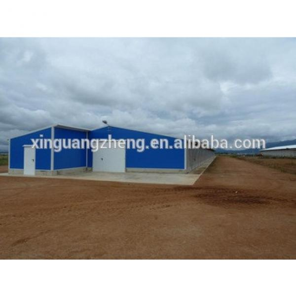 SGS Certificated Prefabricated Steel Frame Buidlings Shed for Africa #1 image