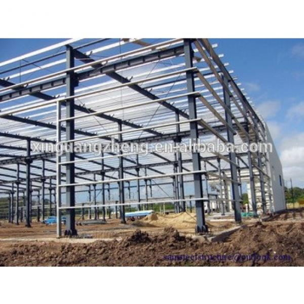 Steel Structure Large Span Building Construction #1 image
