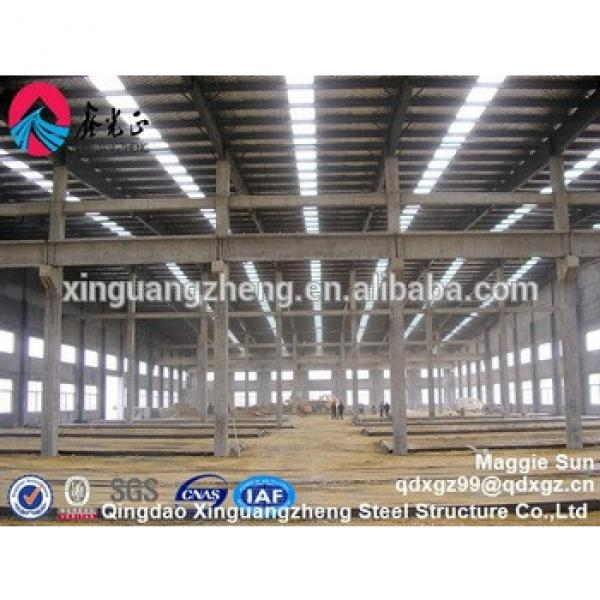 Prefabricated Industrial PEB Structural Steel Frame for Construction #1 image