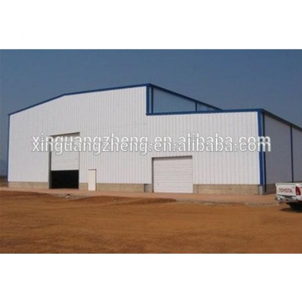 cost effective prefab light steel structure storage warehouse #1 image