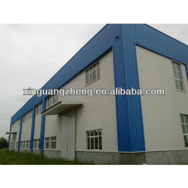 Pre-built high rise steel structure industry warehouse for logistics storage #1 image