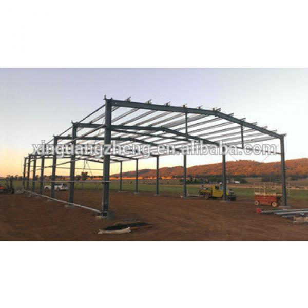 installation construction steel structure prefab barn building #1 image