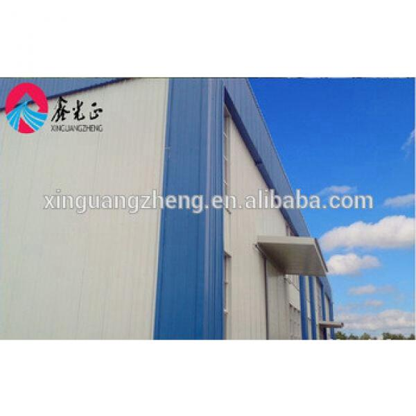 long span prefabricated steel structure building warehouse workshop shed #1 image