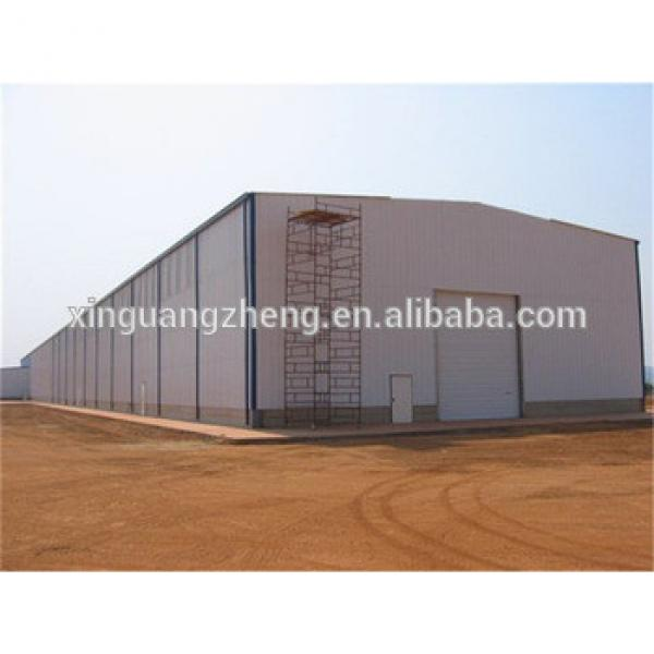 professional China steel structure prefabricated grain warehouse #1 image