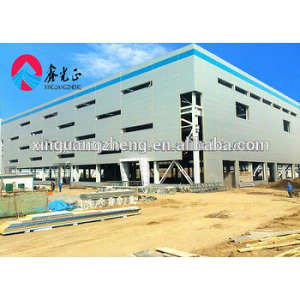 steel structure sandwich panel warehouse shoping mall #1 image