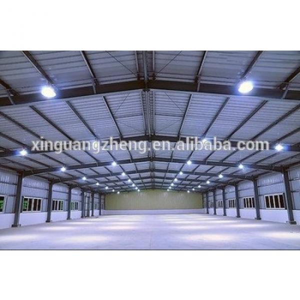 Low cost prefabricated steel structure electric warehouse #1 image