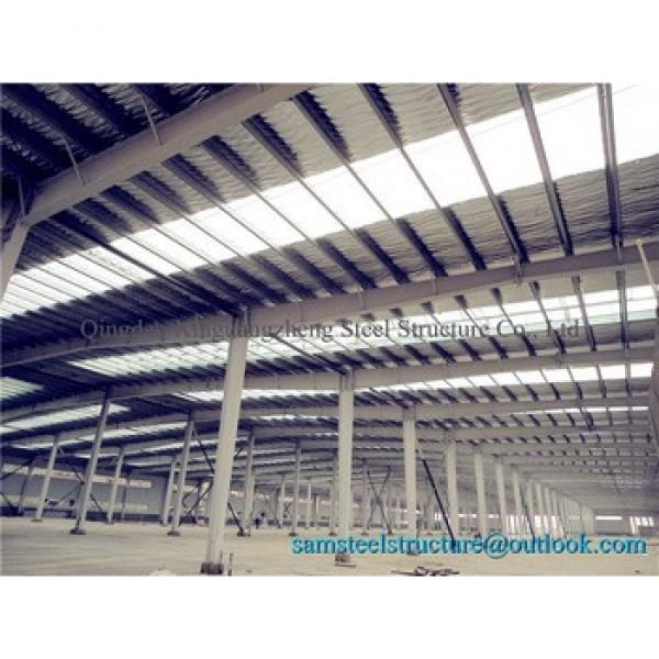 Buildable economical insulated steel prefabricated warehouse #1 image