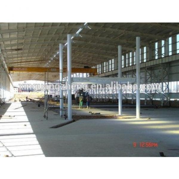High quality prefabricate light steel structure workshop/warehouse #1 image