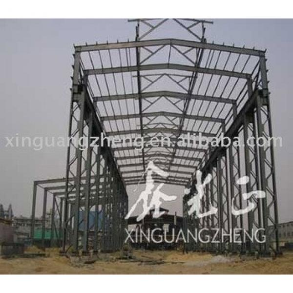 warehouse plan prefabricated steel stucture #1 image