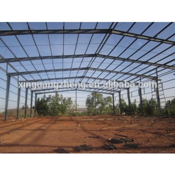 steel structure warehouse/prefabricated steel structure workshop/steel frame structure building #1 image