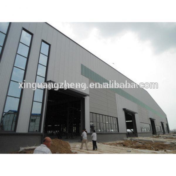 Ethiopia pre engineering turnkey steel structure warehouse #1 image