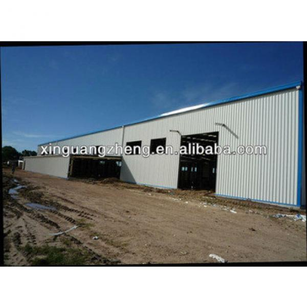 prefab steel structure sandwich panel house shed building #1 image