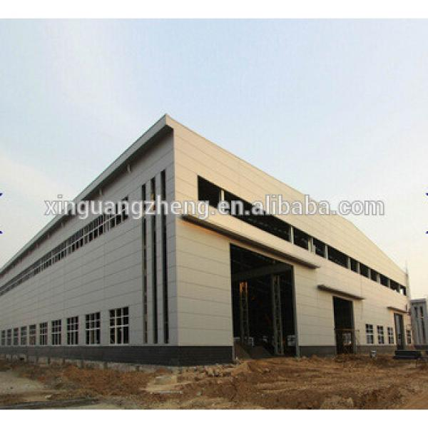 high quality prefabricated turnkey steel structure warehouse project #1 image