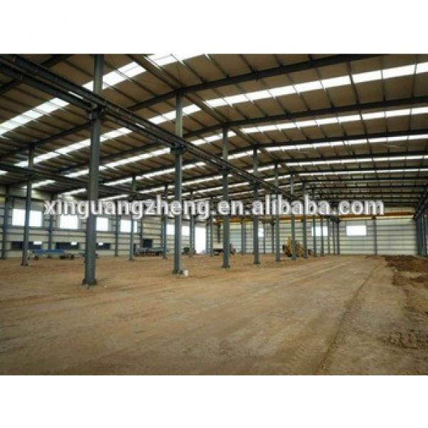 Precision iron steel structure warehouse building #1 image