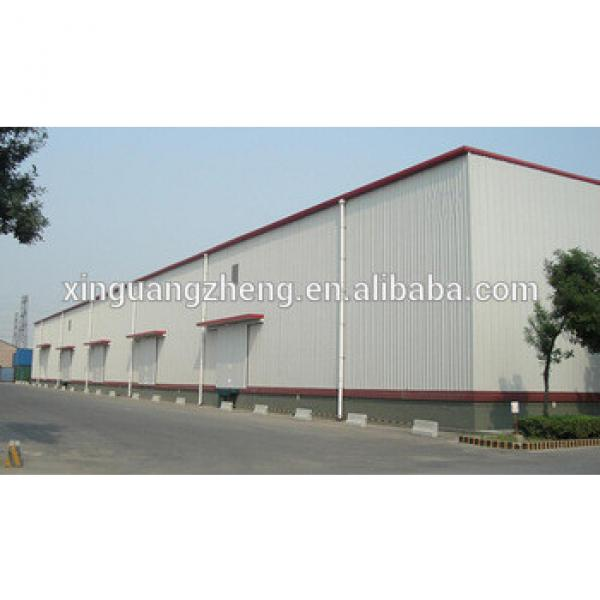 light steel structure prefabricated warehouses in Ethiopia #1 image