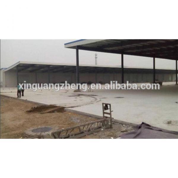 prefab turnkey modern large steel structure warehouse #1 image