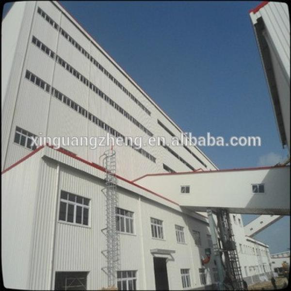 prefabricated long span high rise steel frame structure building #1 image
