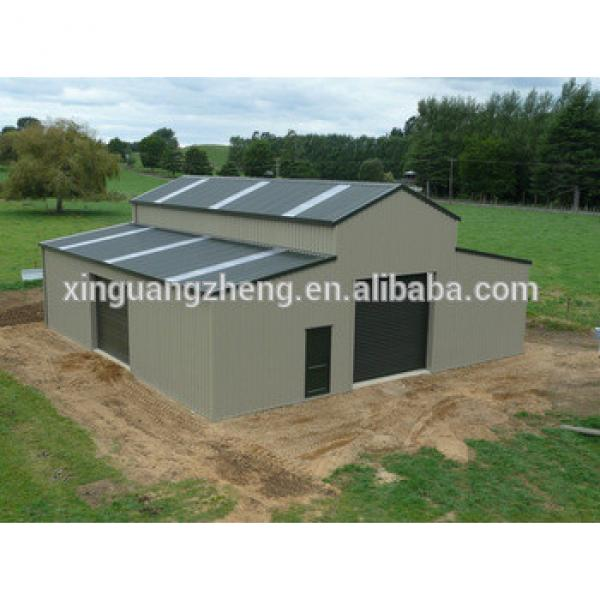 light steel structure cheap building prefabricated small warehouse #1 image